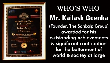 Award Winner Mr. KailashGoenka - The Sankalp Group of Restaurant